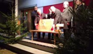 Ehrung für Hans Beimler in Waldthurn am 1.12.2016