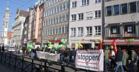 Demo für Bleiberecht am 11.2.2017. Foto: Augsburger Flüchtlingsrat