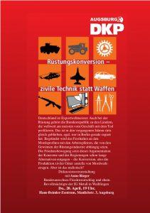 Veranstaltung mit Anne Rieger im Hans-Beimler-Zentrum