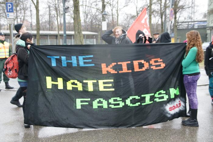 SDAJ-Demonstration 2012 in Augsburg