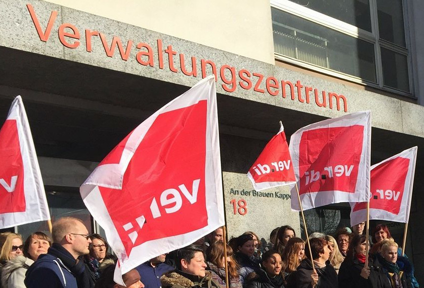 Foto: ver.di Augsburg Tarifrunden öffentliche Dienste